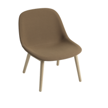 Load image into Gallery viewer, MUUTO | Fiber Lounge Chair - Wood Base - Textile Seat (Multiple Colours Available)