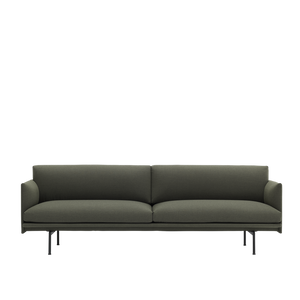 MUUTO | Outline Studio Sofa - 3 Seater (Multiple Colours Available)