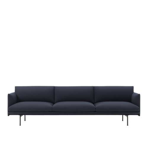 MUUTO | Outline Studio Sofa - 3 1/2-Seater (Multiple Colours Available)