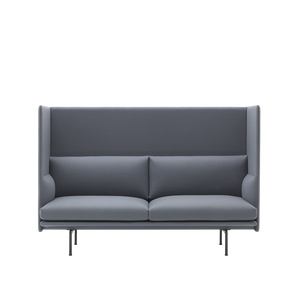 MUUTO | Outline Highback Sofa - 2 Seater (Multiple Colours Available)