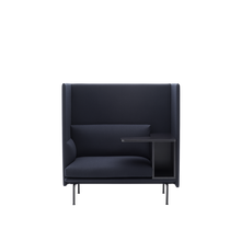 Load image into Gallery viewer, MUUTO | Outline Highback Sofa - 1 Seater Right (Multiple Colours Available)