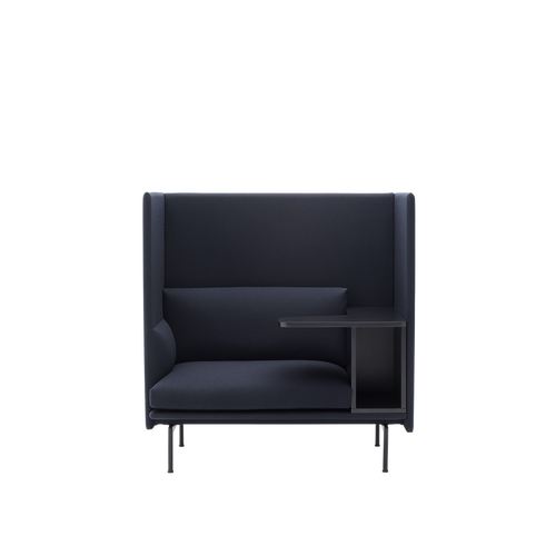 MUUTO | Outline Highback Sofa - 1 Seater Right (Multiple Colours Available)
