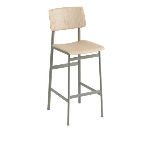 MUUTO | Loft Bar Stool, 75cm (Multiple Colours Available)