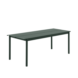 MUUTO | Linear Steel Bench (Multiple Sizes & Colours Available)