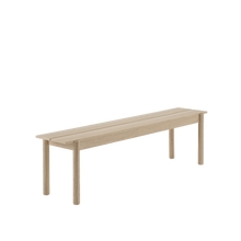 Load image into Gallery viewer, MUUTO | Linear Wood Bench, Oak (Multiple Sizes Available)