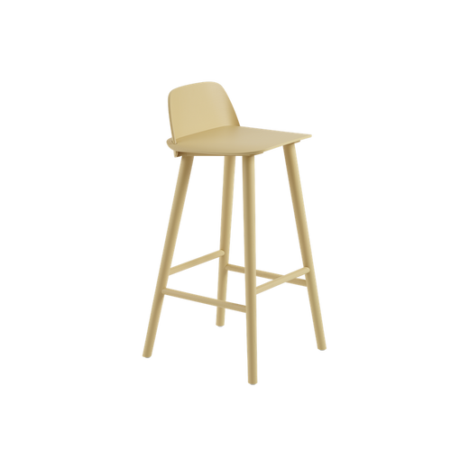 MUUTO | Nerd Counter & Bar Stool - 75cm (Multiple Colours Available)