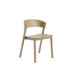 MUUTO | Cover Side Chair - Wooden Seat (Multiple Colours Available)