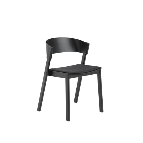 MUUTO | Cover Side Chair - Textile Seat (Multiple Colours Available)