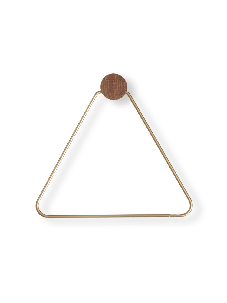 FERM LIVING | Toilet Paper Holder - Brass