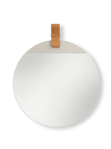 FERM LIVING | Enter Mirror Large - Brown