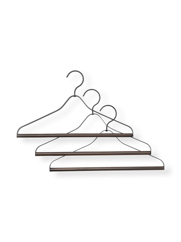 FERM LIVING | Coat Hangers (Set Of 3) - Black