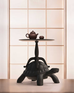 QEEBOO | Turtle Carry Coffee Table - Black
