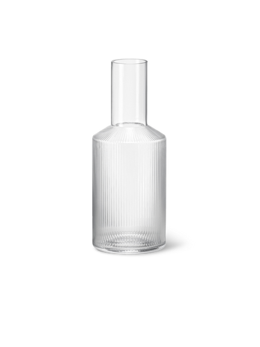 FERM LIVING | Ripple Carafe - Clear