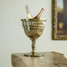 Load image into Gallery viewer, QEEBOO | Capitol Planter / Champagne Cooler - Metal Finish (Gold & Silver Available)