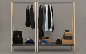 NORMANN COPENHAGEN | Toj Clothes Rack Large Charcoal Grey