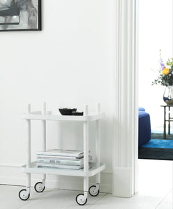 NORMANN COPENHAGEN | Block Table - White/White