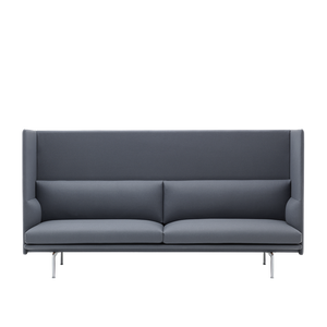 MUUTO | Outline Highback Sofa - 3 Seater (Multiple Colours Available)