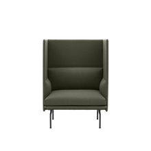 Load image into Gallery viewer, MUUTO | Outline Highback Sofa - 1 Seater H45cm (Multiple Colours Available)
