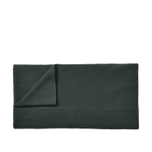 Load image into Gallery viewer, MUUTO | Rhythm Throw (Baby Llama Wool) - Dark Green