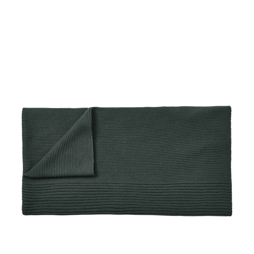 MUUTO | Rhythm Throw (Baby Llama Wool) - Dark Green