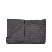 Load image into Gallery viewer, MUUTO | Ample Throw (Baby Llama Wool) - Dark Grey