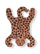 Load image into Gallery viewer, FERM LIVING | Children's Safari Leopard Hand-Tufted Wall/Floor Rug