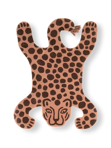 FERM LIVING | Children's Safari Leopard Hand-Tufted Wall/Floor Rug
