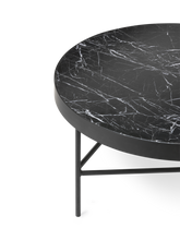 Load image into Gallery viewer, FERM LIVING | Marble Coffee Table - Black Marble