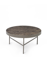 Load image into Gallery viewer, FERM LIVING | Marble Coffee Table - Brown Marble