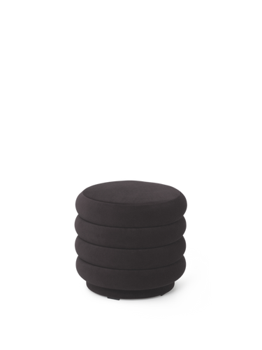 FERM LIVING | Pouf Round - Chocolate (Multiple Sizes)
