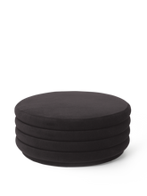 Load image into Gallery viewer, FERM LIVING | Pouf Round - Chocolate (Multiple Sizes)