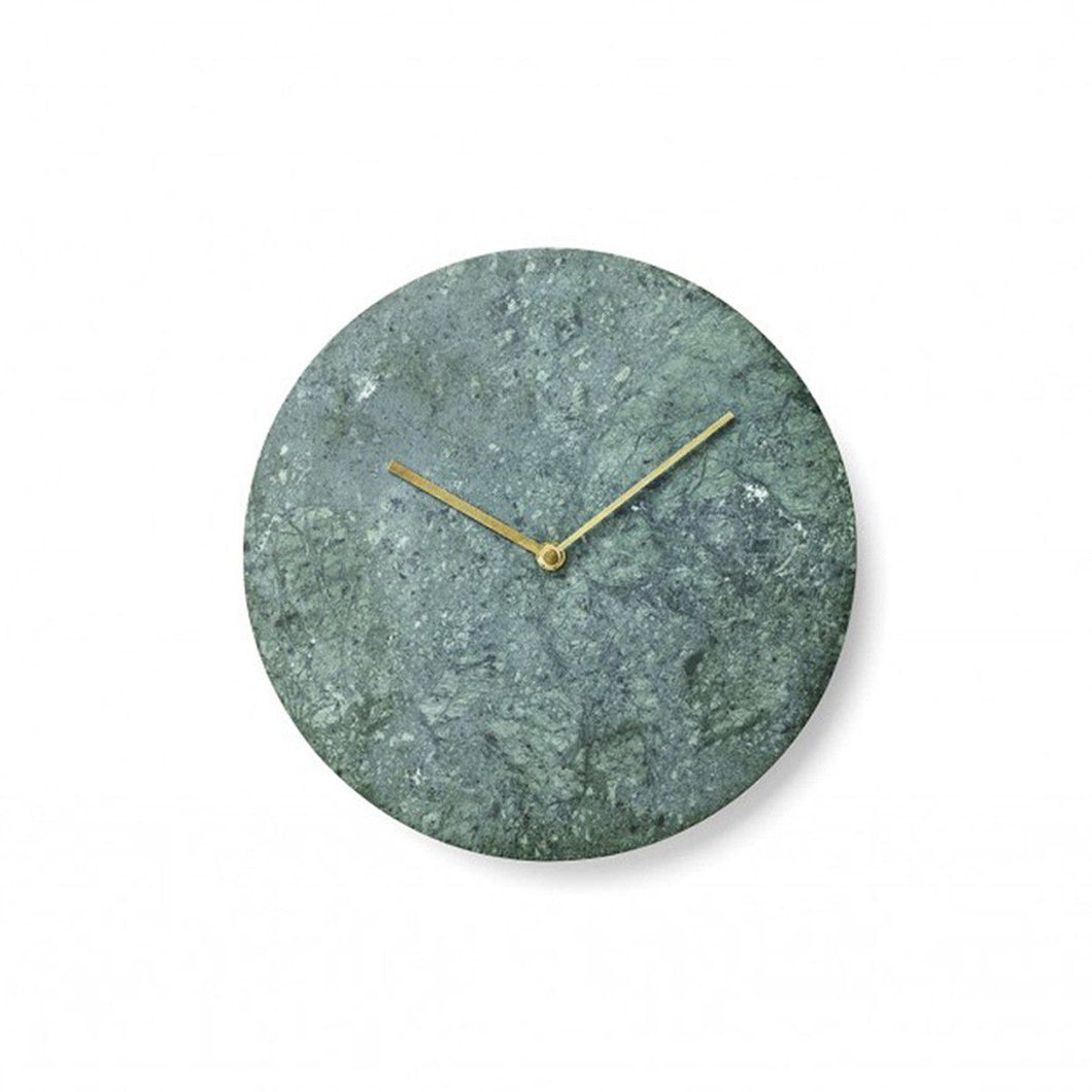 MENU | Marble Wall Clock (Multiple Colours Available)