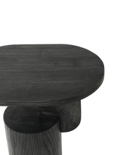Load image into Gallery viewer, FERM LIVING | Insert Side Table - Solid Black Ash Wood