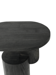 FERM LIVING | Insert Side Table - Solid Black Ash Wood
