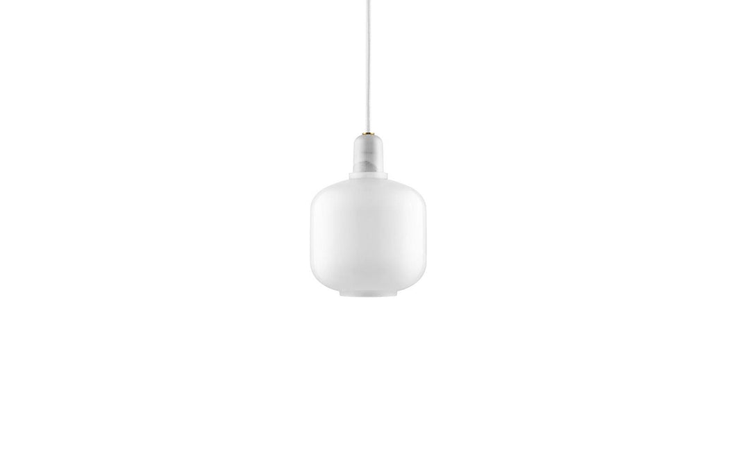 NORMANN COPENHAGEN | Amp Pendant Lamp - White (Multiple Sizes)