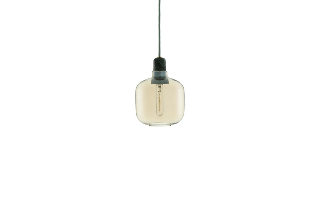 NORMANN COPENHAGEN | Amp Lamp - Gold/Green (Multiple Sizes)