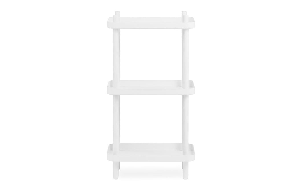 NORMANN COPENHAGEN | Block Shelf - White/White