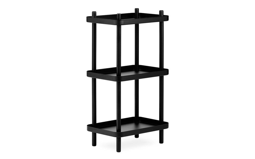 NORMANN COPENHAGEN | Block Shelf - Black/Black