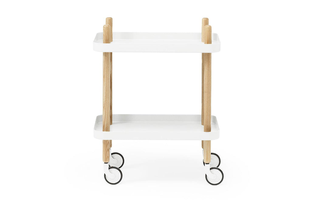 NORMANN COPENHAGEN | Block Table - White
