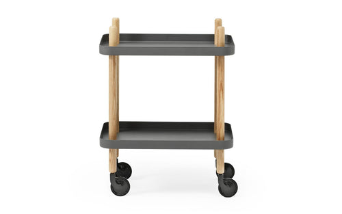 NORMANN COPENHAGEN | Block Table - Dark Grey