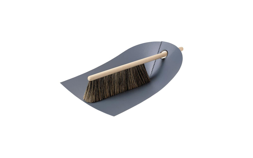 NORMANN COPENHAGEN |  Dustpan & Broom - Dark Grey