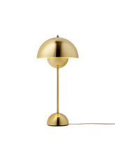Load image into Gallery viewer, &TRADITION | Flowerpot VP3 by Verner Panton 1969 - Polished Brass (New Without Box - EU Light)