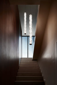 SLAMP LIGHTING | Hugo Vertical Suspension Lamp (Prisma & White Available)