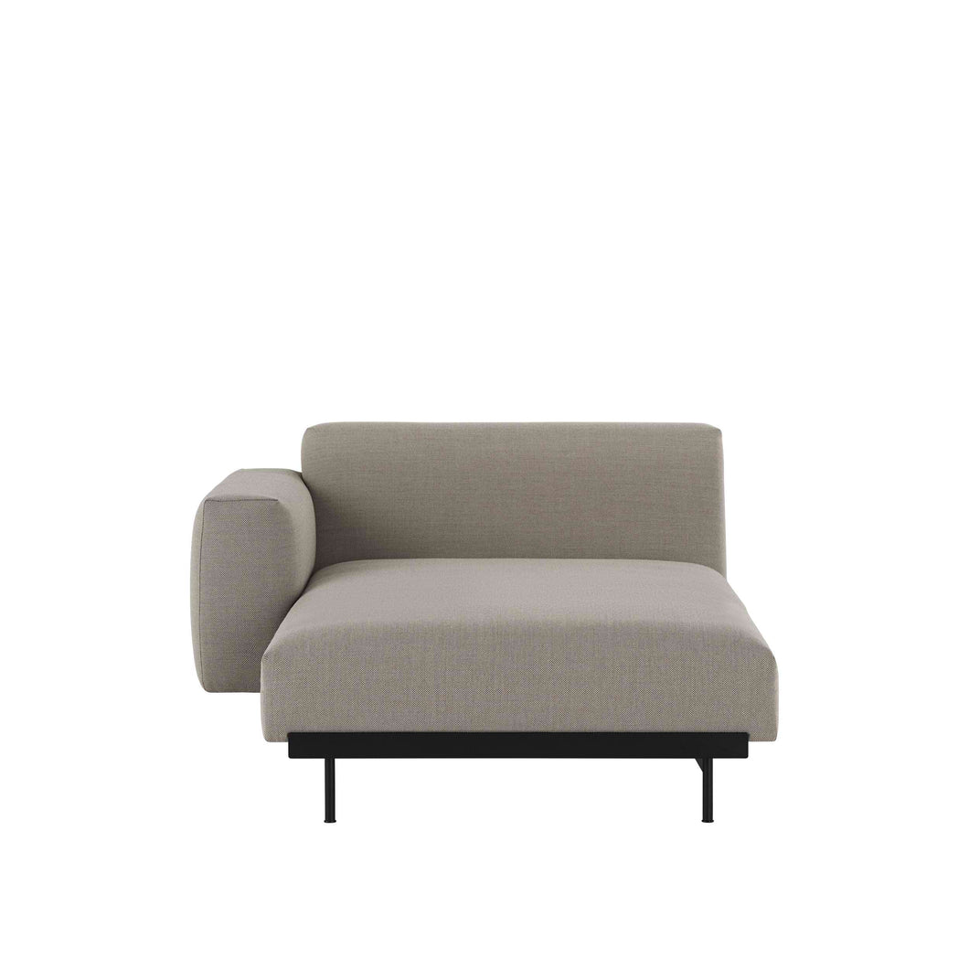 MUUTO | In Situ Modular Sofa, Left Arm Rest Lounge Module H98 (Multiple Colours Available)