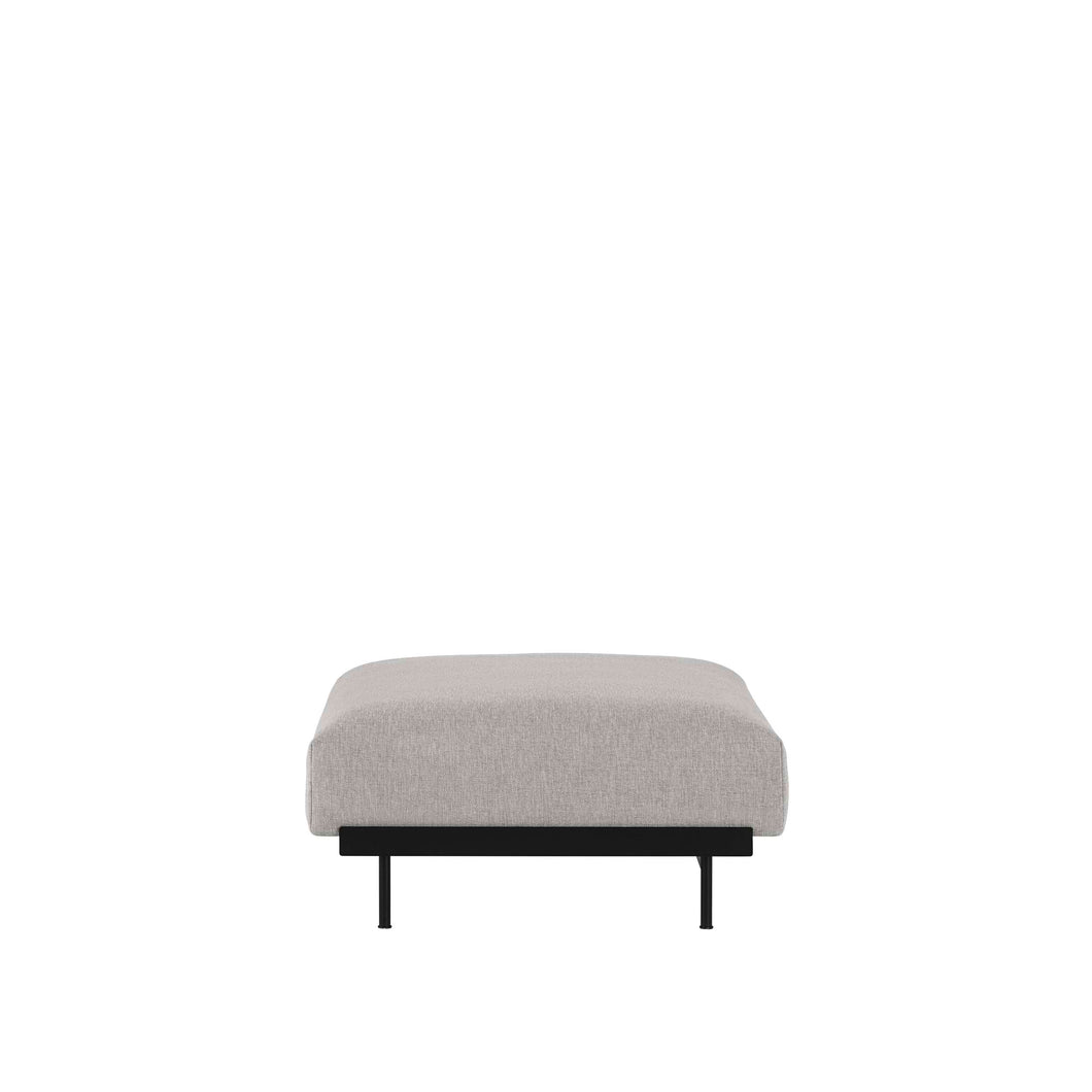 MUUTO | In Situ Modular Sofa, Ottoman Module D80 (Multiple Colours Available)