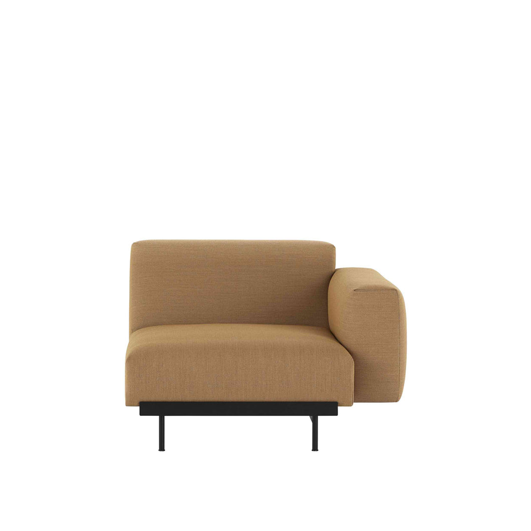 MUUTO | In Situ Modular Sofa, Right Arm Rest Module B80 (Multiple Colours Available)