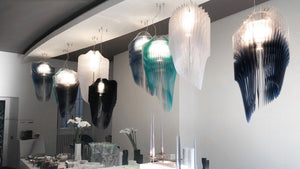 SLAMP LIGHTING | Avia Edition Suspension Lamp (Blue, Turquoise & Ultramarine)