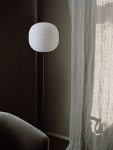 Load image into Gallery viewer, NEW WORKS | Lantern Floor Lamp, Medium - Black/Frosted (EU Light)