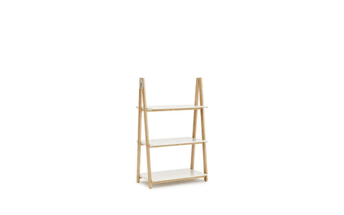 NORMANN COPENHAGEN | One Step Up Bookcase White (Multiple Sizes Available)