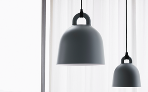 NORMANN COPENHAGEN | Bell Lamp - Grey (Multiple Sizes)